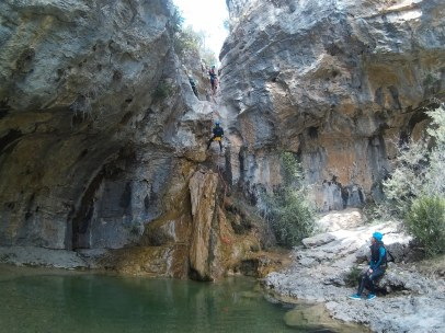 Barranquismo/ canyoning Madrid: Poyatos