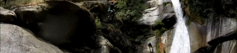Barranquismo / canyoning Madrid: Papuos