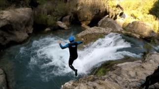 Ventano del diablo: Mikel salta