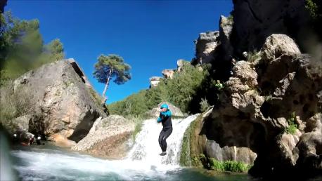 Salto al rio Jucar