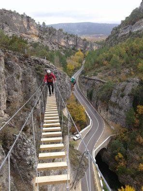 Vía ferrata de Priego Puente