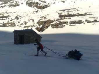 Aire + Nieve = Esqui de fondo