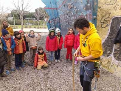 Barranquismo Madrid Escalada Scout