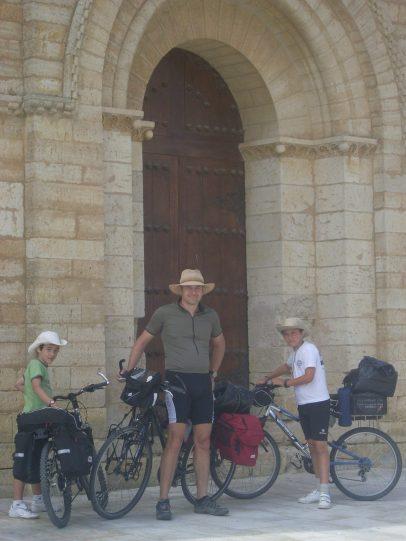 Listos para empezar el Camino de Santiago