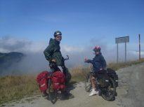 Camino de Santiago en bici con niños: Hay que tener cuidado de que no se enfríen.
