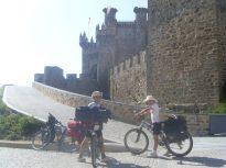 Camino de Santiago en bici para niños