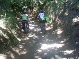 Camino de Santiago en bici por Galicia