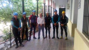 Curso de Barranquismo con el Alcalde