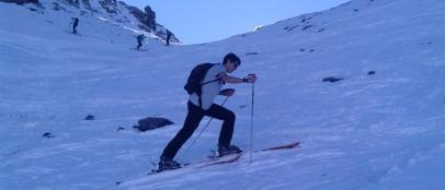 Esqui de travesia Madrid