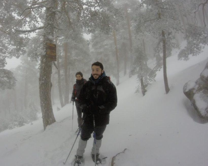 Rutas con raquetas de nieve desde Navecerrada