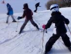 Curso de esquí