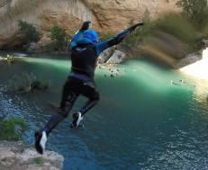 Barranquismo Madrid Salto al agua