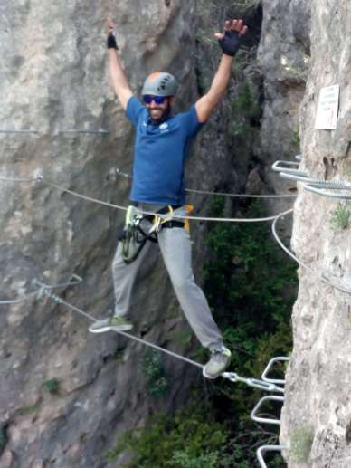 Via ferrata Madrid: Priego