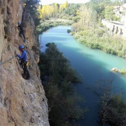 Via ferrata cerca Madrid