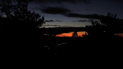 Anochecer en la Sierra de Guadarrama