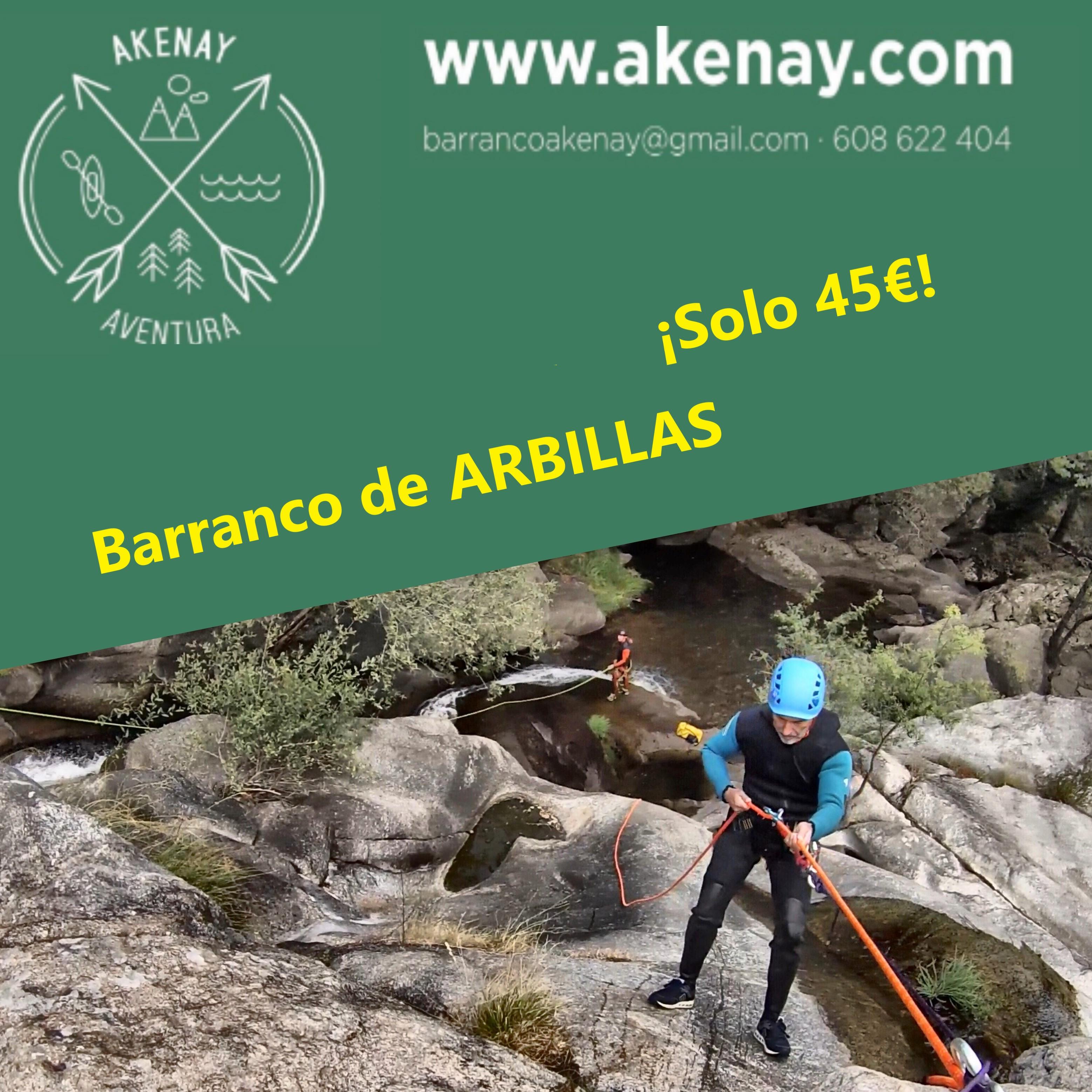 Barranquismo en Arbillas